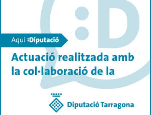 La Diputació de Tarragona atorga subvenció a l'Ajuntament de la Fatarella dins el Pla d'Acció Municipal – PAM, 2019