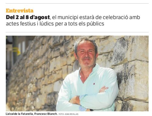Entrevista a l'Alcalde de la Fatarella